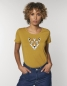 Preview: Damen Biobaumwoll-Shirt Leopard