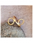 "Preview: Stella Ring ""Gold circles"""