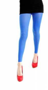40 Footless Tights Flo Blue