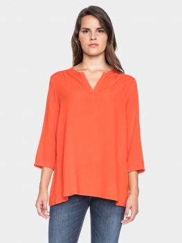 Tunika-Bluse Grazia orange