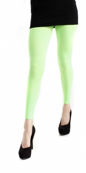 40 Footless Tights Flo Green