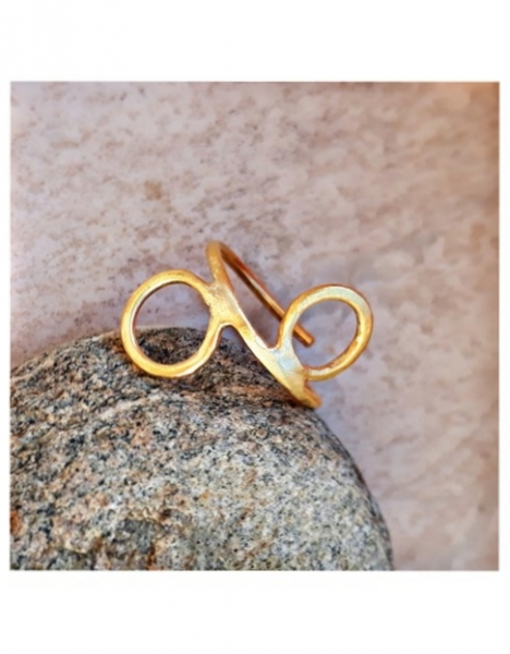 "Stella Ring ""Gold circles"""